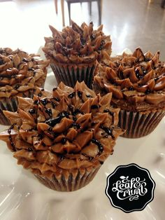 Milk Chocolate w/Chocolate Swiss Buttercream :: Denver Cupcake Shop... I love my city!
