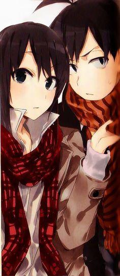 Browse Daily Anime / Manga photos and news and join a community of anime lovers! Anime Cupples, Anime Art, Yahari Ore No Seishun, Couple Moments, Couple Romance, Couple Illustration, Anime Girl Drawings, Anime Love Couple, Manga Artist