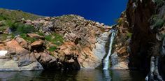 Cedar Creek Falls is a popular destination just outside San Diego that looks a bit like paradise if you ask me.