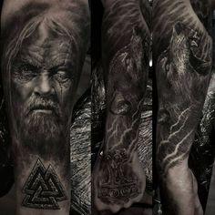 the king of tatoo: the king of tatoo, mestres das tatoo, magosto das . Viking Tattoo Sleeve, Viking Tattoos, Sleeve Tattoos, 4 Tattoo, Grey Tattoo, Forearm Tattoos, Slavic Tattoo, Norse Tattoo, Viking Tattoo Design
