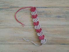 Feliz Crochet Berry: Modelo de la pulsera del corazón crochet rápida y sencilla