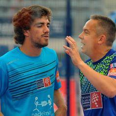 Juan Lebrón y Gaby Reca han logrado su primer pase a cuartos como pareja tras imponerse a Willy Lahoz y Aday Santana por 6/1 3/6 y 6/4. Enhorabuena! #lasrozasopen #worldpadeltour #lasrozas #padel #padeltime #padeladdict
