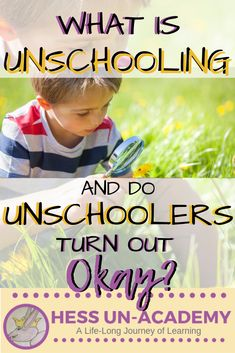 What is unschooling? Do unschoolers turn out okay? Unschooling is a very popular homeschooling method. Unschooling is also a very misunderstood homeschooling style. Learning Activities, Kids Learning, Toddler Activities, How To Start Homeschooling, Homeschooling Resources, Preschool Curriculum, Montessori Education, Preschool Worksheets, Teaching Methods