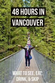 48 Hours in Vancouver& on what to see, eat, drink, and skip & Vancouver trip planning advice, itinerary tips. Where to go in Vancouver on a long weekend. Source by desktodirtbag Vancouver Seattle, Vancouver Travel, Vancouver Vacation, Vancouver Food, Vancouver Washington, Stanley Park Vancouver, Visit Vancouver, Seattle Travel, Vancouver British Columbia
