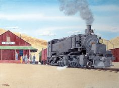 Locomotora 50, de Uintha Railway, USA