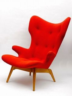 Grant Featherston; 'Contour' Wing Chair, 1951.