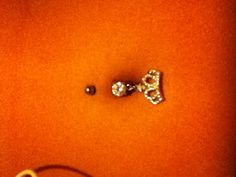 My belly button piercing