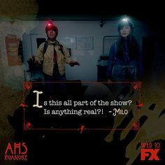 American Horror Story Roanoke // What's real? Finding Bigfoot, Holby City, Finding Carter, Bold And The Beautiful, How To Get Away, Down South, See On Tv, Ahs, American Horror Story