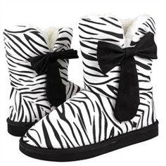 Zebra Print Uggs