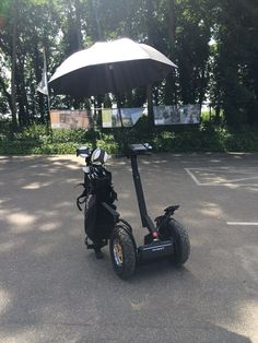 Segway PT i2 SE met cross-over banden, paraplu én golftas! www.segway.nl