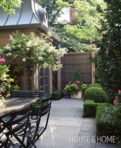 Photo Gallery: Small Backyards | House  Home