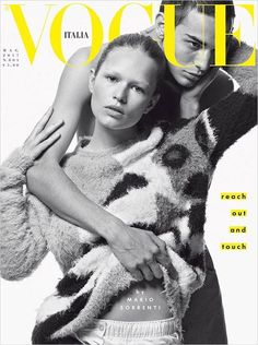 Anna Ewers and David Friend Cover Vogue Italia May 2017 Issue
