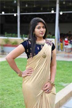 Gemini tv & Rednose Entertainment Organized by Narilokam Fashion Show Indian Actress Photos, Beautiful Indian Actress, Indian Beauty Saree, Indian Sarees, Beautiful Saree, Beautiful Outfits, Satin Saree, Saree Photoshoot, Beauty