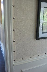 Applying Fabric With Cornstarch On Glass For Privacy