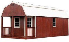 Premier Portable Buildings Lofted Barn Cabin