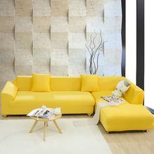 US $28.58 Spandex Stretch Sofa cover Big Elasticity 100% Polyester Couch cover Loveseat SOFA Furniture Cover 1pc pure color Machine Wash. Aliexpress product