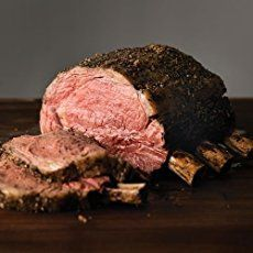 The flavor-enhancing bones have been left in this oh-so-easy, delicious Rib Roast to give you more of the full, mellow taste that makes Prime Rib such a favorite. Have our Omaha Steaks Prime Rib Roast for your next dinner! Bone In Ribeye Roast, Prime Rib Roast Recipe Bone In, Cooking Prime Rib Roast, Prime Rib Recipe, Cooking Ribs, Prime Rib Bone In, Roast Brisket, Cooking Steak, Beef Tenderloin