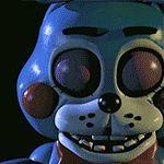 Five Nights at Freddy's 2- New Bonnie Blinking GIF by GEEKsomniac