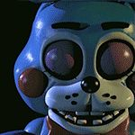 Five Nights at Freddy's 2- New Bonnie Blinking GIF by GEEKsomniac