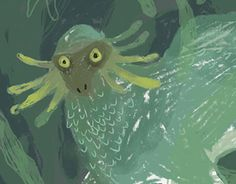 """Check out new work on my @Behance portfolio: """"Creatures"""" http://be.net/gallery/57800821/Creatures"""