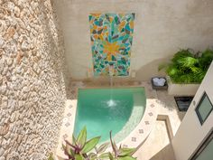 Pin by Jocelaine Silva on Design de Interior e Exterior Small Swimming Pools, Small Backyard Pools, Cozy Backyard, Backyard Pool Designs, Small Pools, Swimming Pools Backyard, Model House Plan, Small Pool Design, Mini Pool