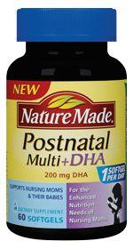 Nature Made Postnatal Multi DHA