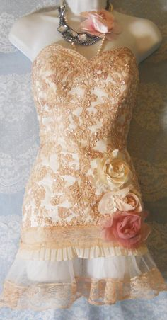 20s Vintage dress great Gatsby style!.i have a pair of vintage wedding boots that would look good with this