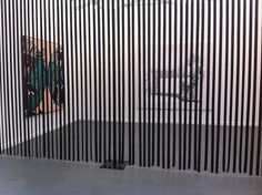 Monika Sosnowska, Untitled, 2006, Metal, Rubber, Installation view. Courtesy of Galerie Gisela Capitain