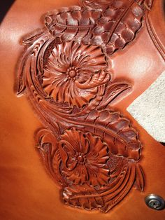 Leather Tooling Patterns, Leather Pattern, Buck Brannaman, Cowboy Gear, Leather Crafting, Leather Stamps, Kydex, Tooled Leather, Leather Projects