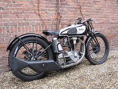 Vintage Norton Motorcycles: 1936 Model 30 Norton