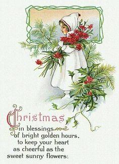 Old Christmas Post Сards — Images Vintage, Vintage Christmas Images, Old Christmas, Old Fashioned Christmas, Victorian Christmas, Retro Christmas, Vintage Holiday, Christmas Pictures, Christmas Tunes