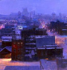 bofransson: Andrew Gifford - Blizzard from my hotel window, Queens II