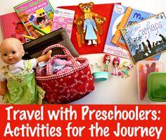 Travel with Preschoolers: Activities for the Journey