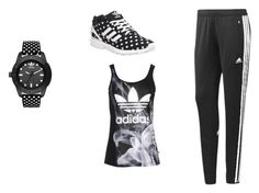 """""""adidas"""" by littlewonder2504 ❤ liked on Polyvore featuring adidas and adidas Originals"""
