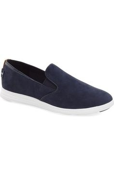 Cole Haan 'Ella' Slip-On Sneaker (Women) available at #Nordstrom - This in grey...