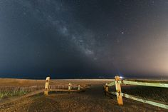 A clear night at the Jersey shore in Ocean City to catch some stars and the milky way.