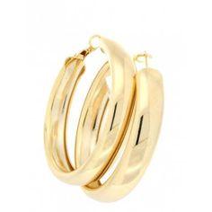 Wide Hoop Earrings | Jennifer Miller Jewelry