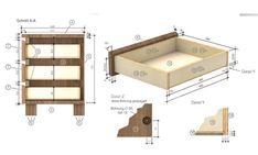 schublade mit abgeschragter kante bauen