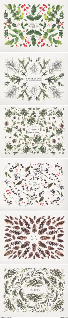 Tarjetas de Navidad// The House that Lars Built, via Fox in the Pine Noel Christmas, Winter Christmas, Christmas Crafts, Christmas Decorations, Christmas Patterns, Christmas Design, Xmas Deco, Mery Chrismas, Illustration Noel
