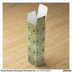 Funny Runner Running Christmas Letter To Santa RND Wine Boxes This funny design for the runner on your gift list features an icon style runner with a Christmas Tree. All a runner wants for Christmas is to run faster, stay healthy and to finish every race I enter ! Great gift for a recreational or professional runner, personal trainer or coach.