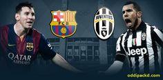 UEFA Champions League Final - Berlin 2015, F.C. Barcelona vs Juventus *flailing*