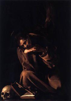 St Francis, Caravaggio