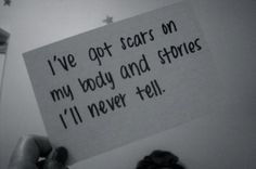 cutting quotes | cut, never, quote, scars, words - inspiring picture on Favim.com