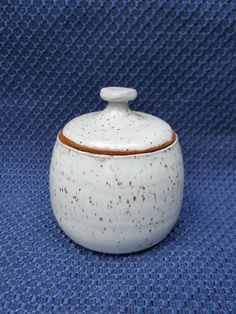 Check out this item in my Etsy shop https://www.etsy.com/listing/475216897/small-lidded-jar-white-stoneware