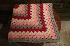 Granny Square Baby Blanket by DianaCartinian on Etsy