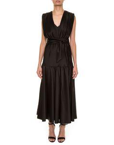Vestido Midi Clarice Black Cris Barros