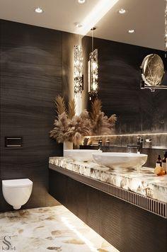 Bathroom decor for your bathroom remodel. Discover bathroom organization, bathroom decor ideas, bathroom tile ideas, bathroom paint colors, and more. Luxury Homes Interior, Home Interior Design, Interior Plants, Dream Bathrooms, Marble Bathrooms, Bathroom Mirrors, Bathroom Cabinets, Master Bathrooms, Small Bathrooms