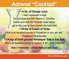 {adrenal cocktail}
