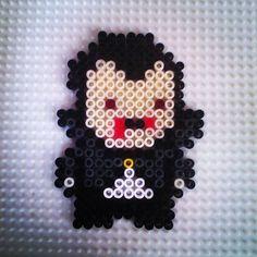 Vampire Halloween hama beads by  hadavedre