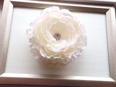 White Ranunculus Flower Clip, SWAROVSKI Crystal Clip, Hair Accessory, Bridal Hair Clip, Wedding Fascinator, Flower Clip, Adult Hair Clip on Etsy, $18.00 CAD